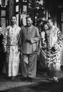 Mao and Dalai Panchen