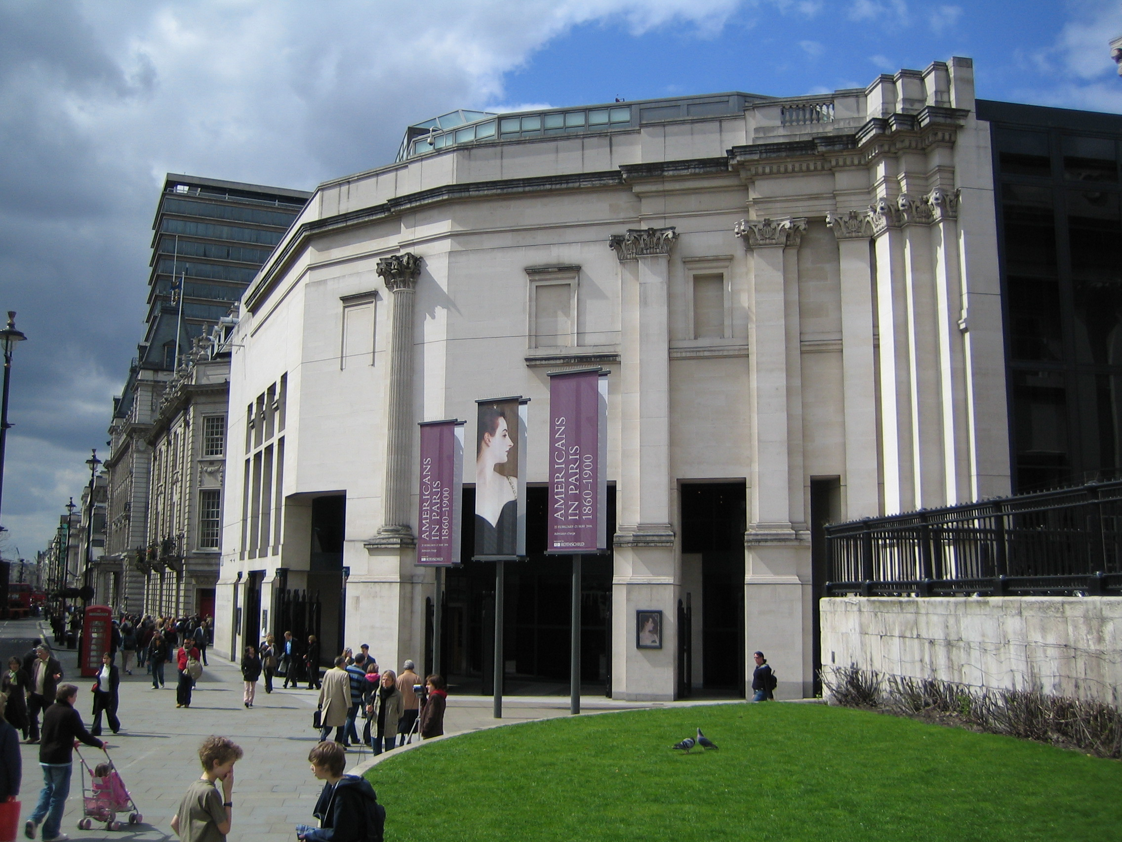 Sainsbury Wing, National Gallery London