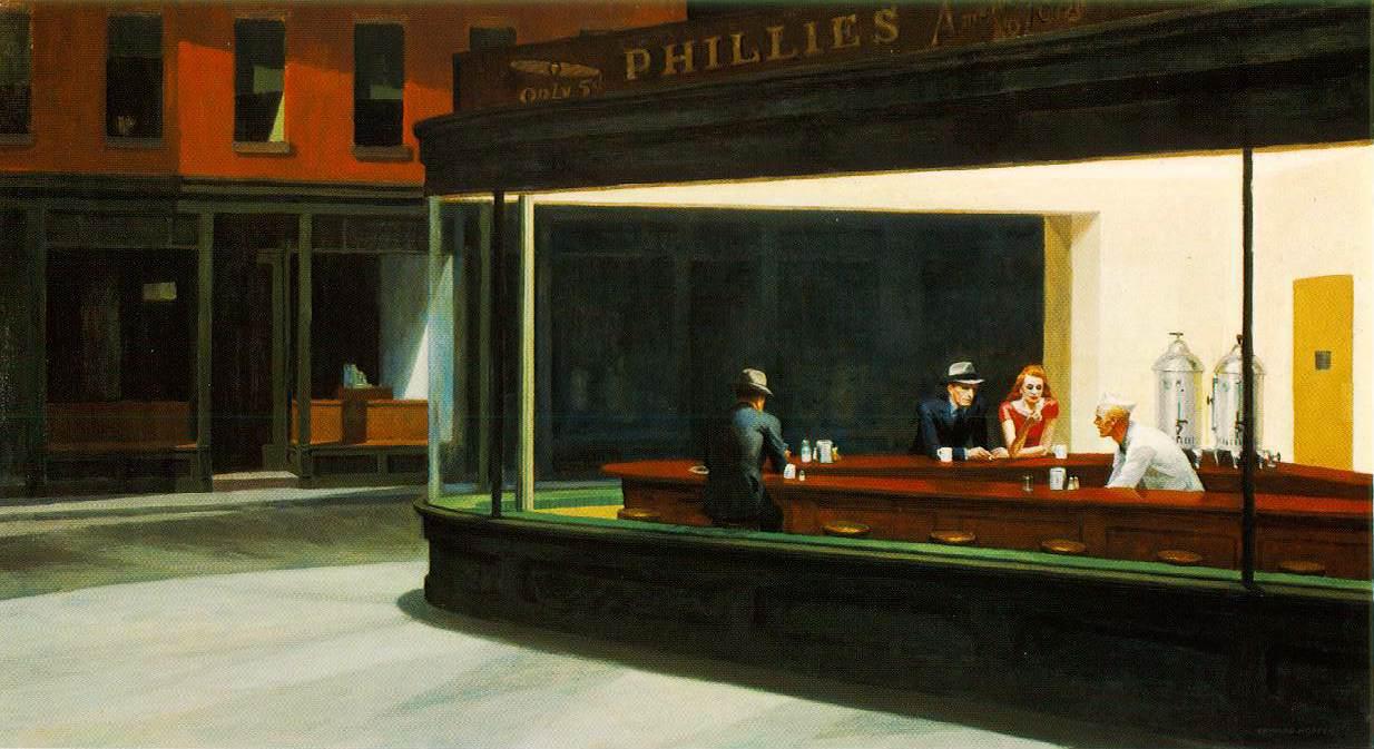 Edward Hopper's 'Nighthawks'