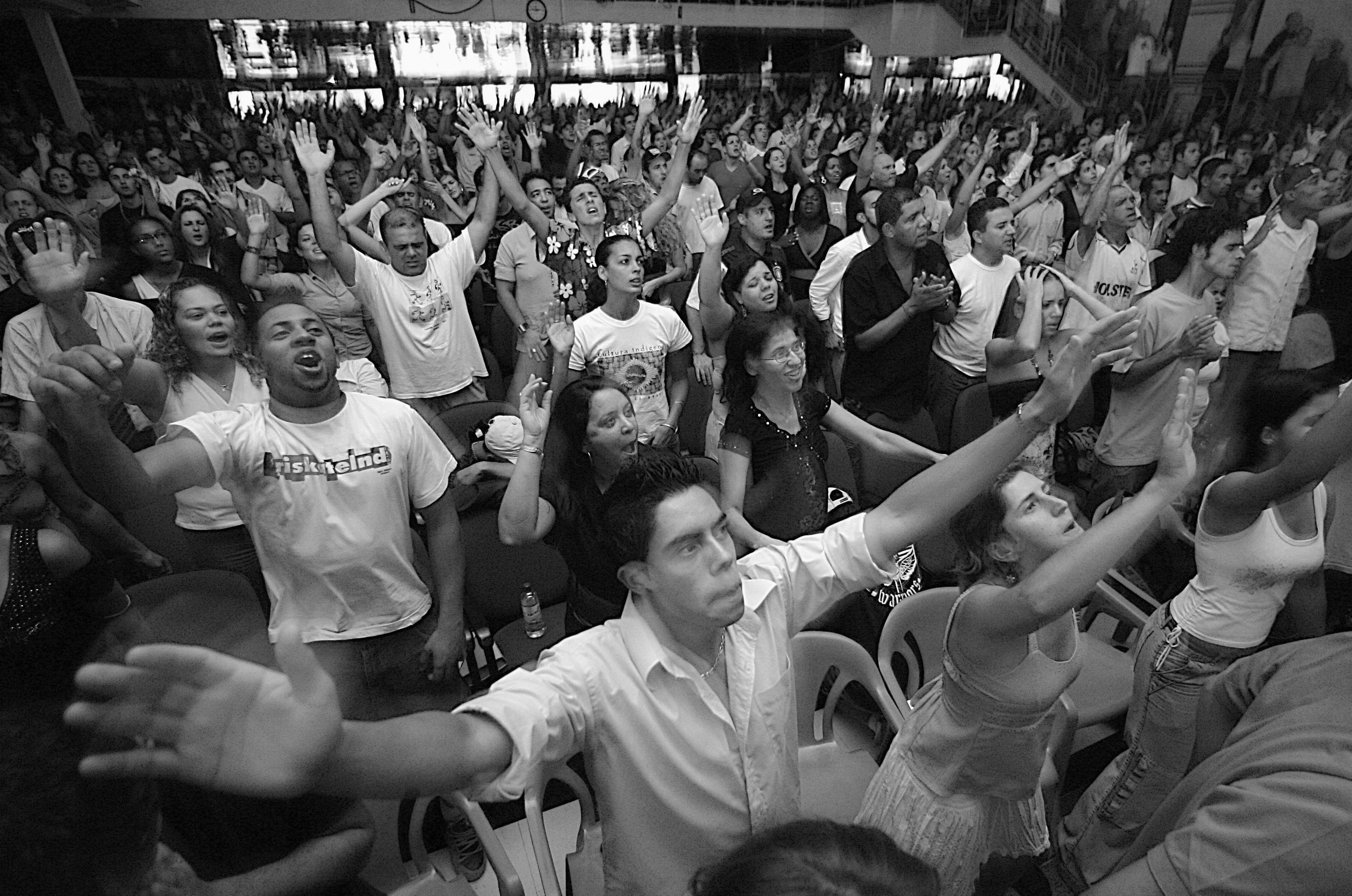 Evangelical protestantism – the new religion of Latin America's poor.
