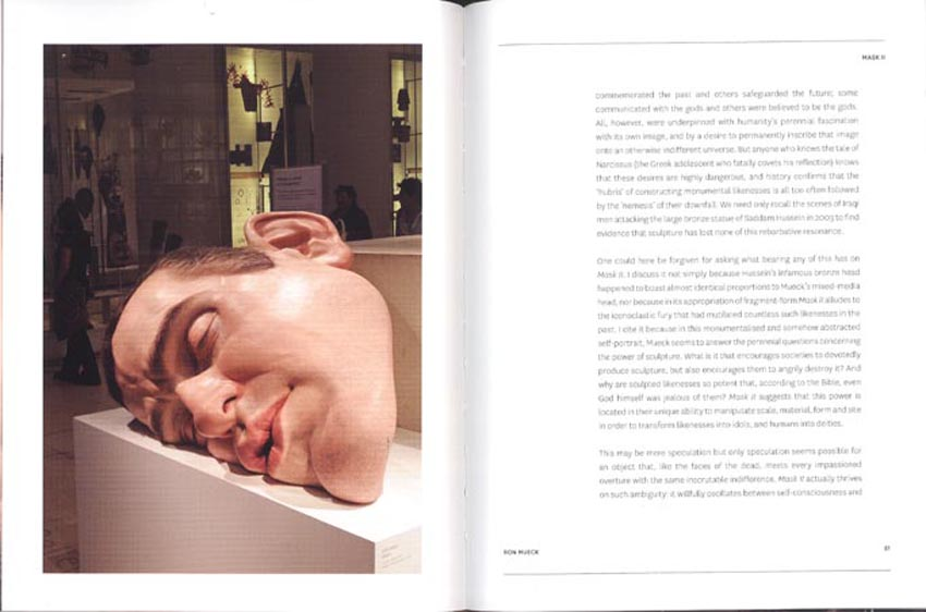 Page Spreads from 'Ron Mueck'