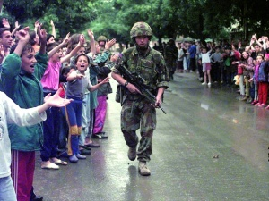 British Troops in Kosovo