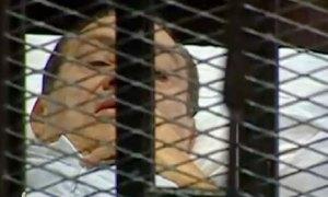 Hosni Mubarak on trial today