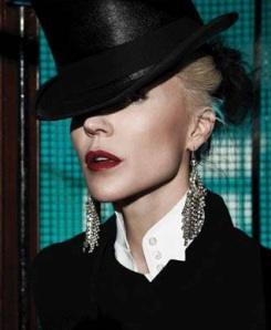 Daphne Guinness - as pictured in her new book from Yale