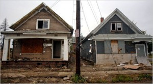 Empty Houses, Buffalo, New York Times