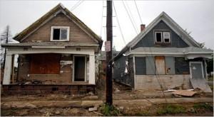 Empty Houses, Buffalo, New York Times