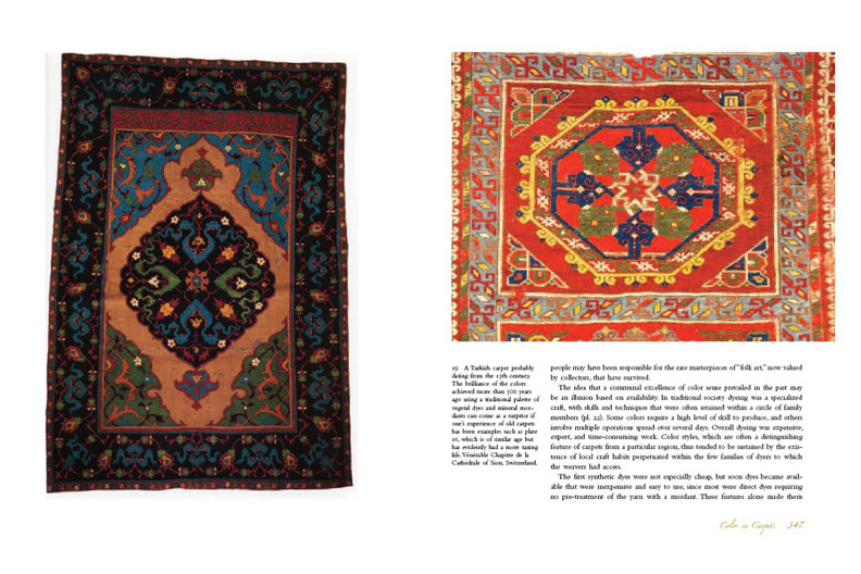 Islamic Carpets: Page Spreads from 'And Diverse are Their Hues'
