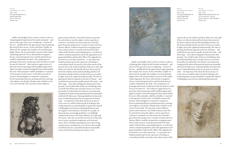 Page spreads from 'Leonardo Da Vinci: Painter at the Court of Milan'