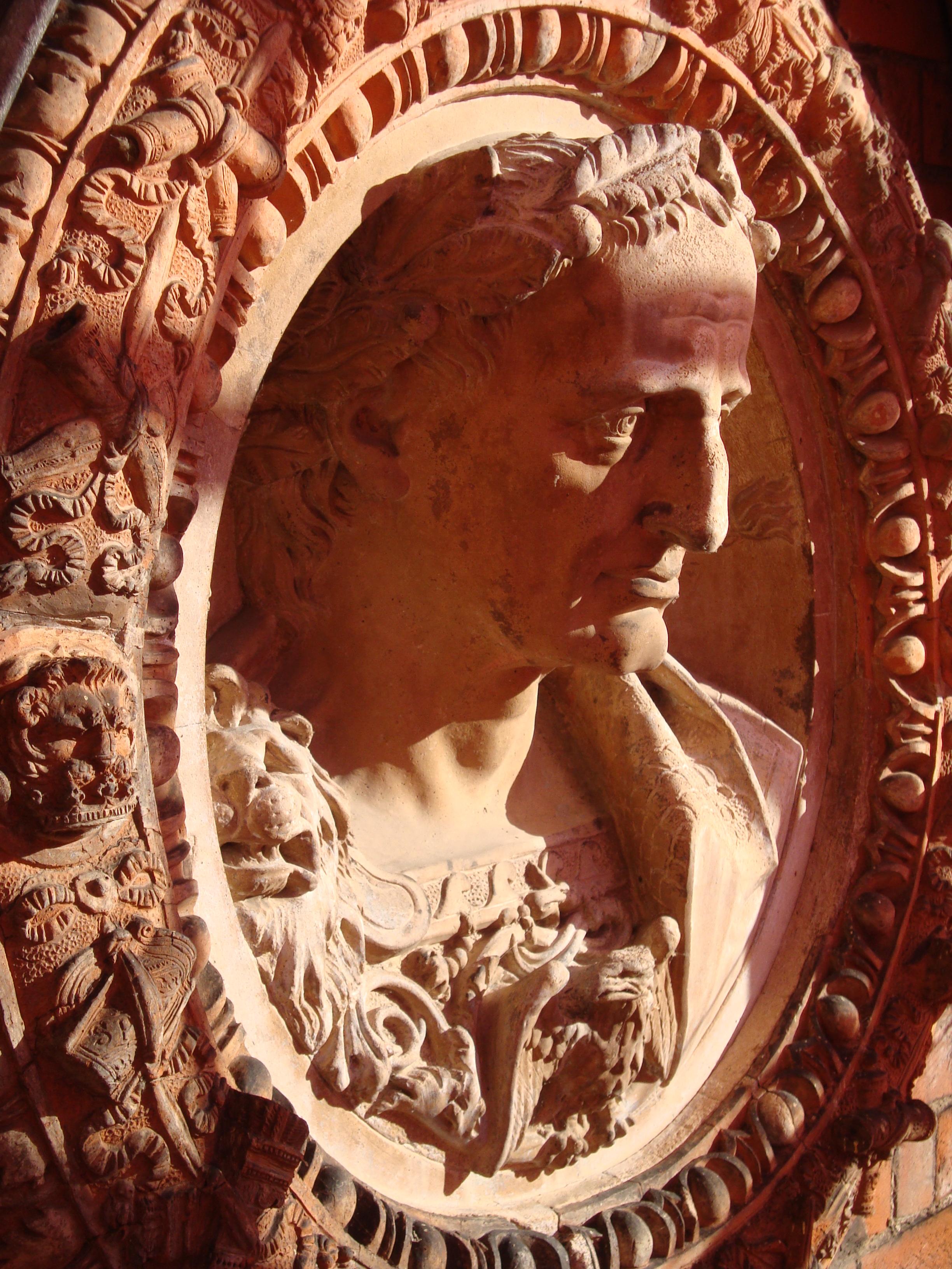 Hampton Court, Julius Caesar by Giovanni da Maiano c. 1520 - Jonathan Foyle