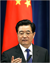 Hu Jintao, President of the People's Republic of China