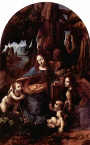 Leonardo's 'Virgin of the Rocks'