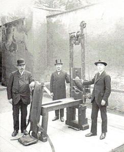 A German Fallbeil, Regensberg Prison, 1926