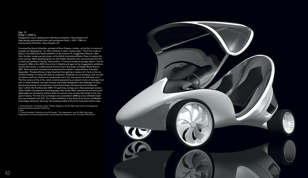 Conceptual design for the Z.CAR