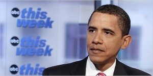 """""""We are going to have to take a new approach"""" to Iran, Obama said on the US program """"This Week"""" in January 2009."""