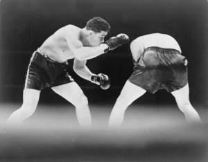 Joe Louis vx Louis-Schmeling fight (June 19, 1936)