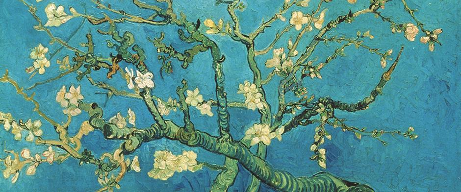 Almond Blossom (detail), 1890, Van Gogh Museum Amsterdam (Vincent van Gogh Foundation)