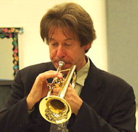John Wallace, co-author of 'The Trumpet'
