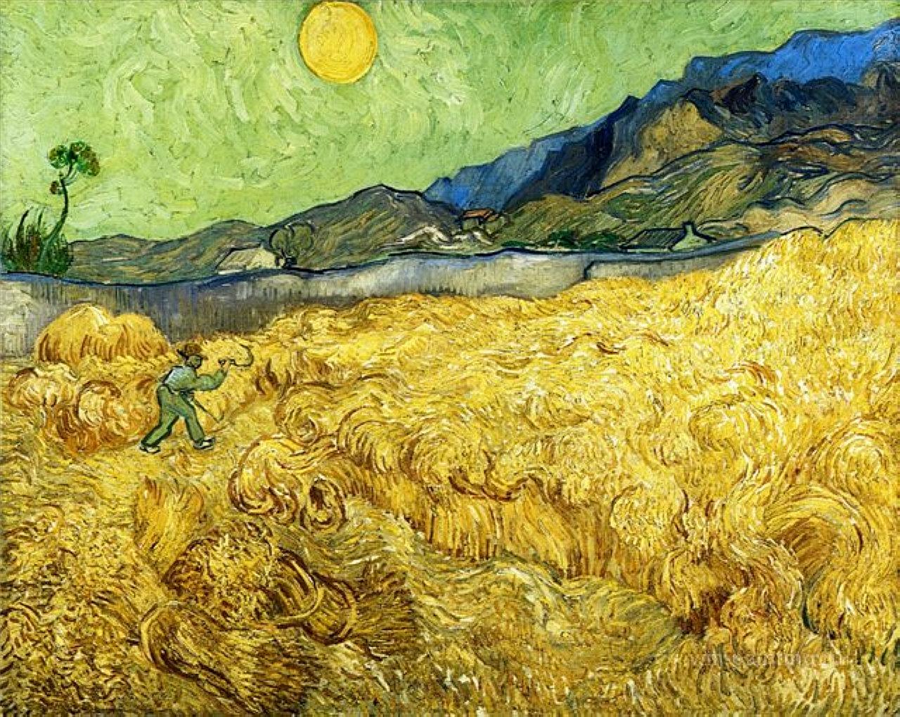 The Reaper, Van Gogh (1889)