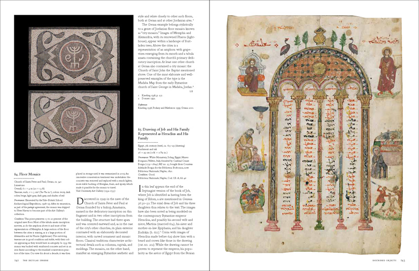 Page spreads from 'Byzantium and Islam: Age of Transition'