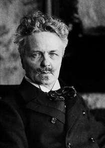 August Strindberg (22 January 1849)