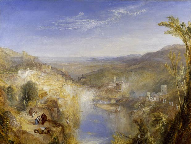 Modern Italy, the Pifferari, Turner