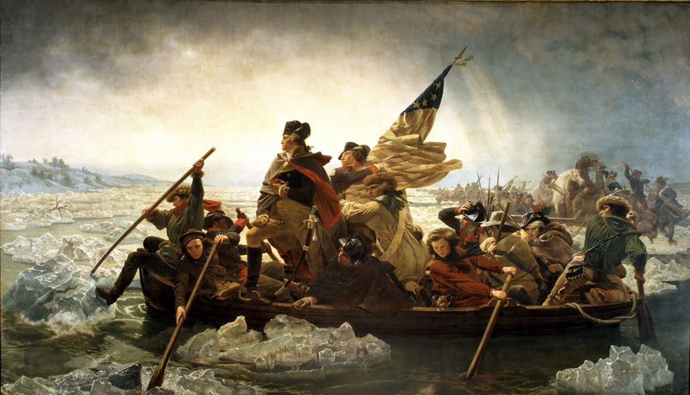 'Washington Crossing the Delaware' by Emanuel Leutze