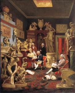 Zoffany, Charles Towneley and friends in his library