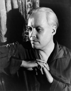 Photographic self-portrait by Carl Van Vechten, taken in 1934