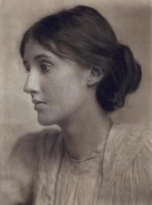 Portrait of Virginia Woolf, a regular Soho denizen
