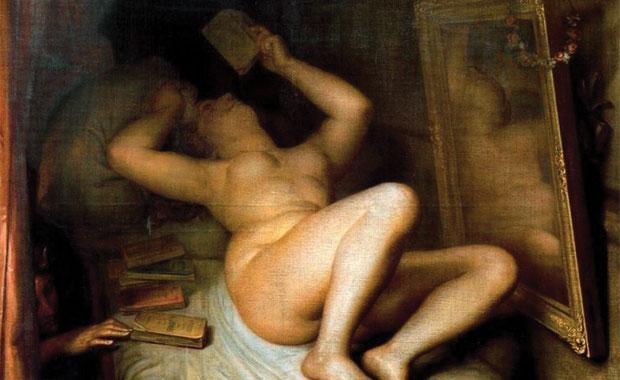 Antoine Wiertz: La Liseuse de Romans