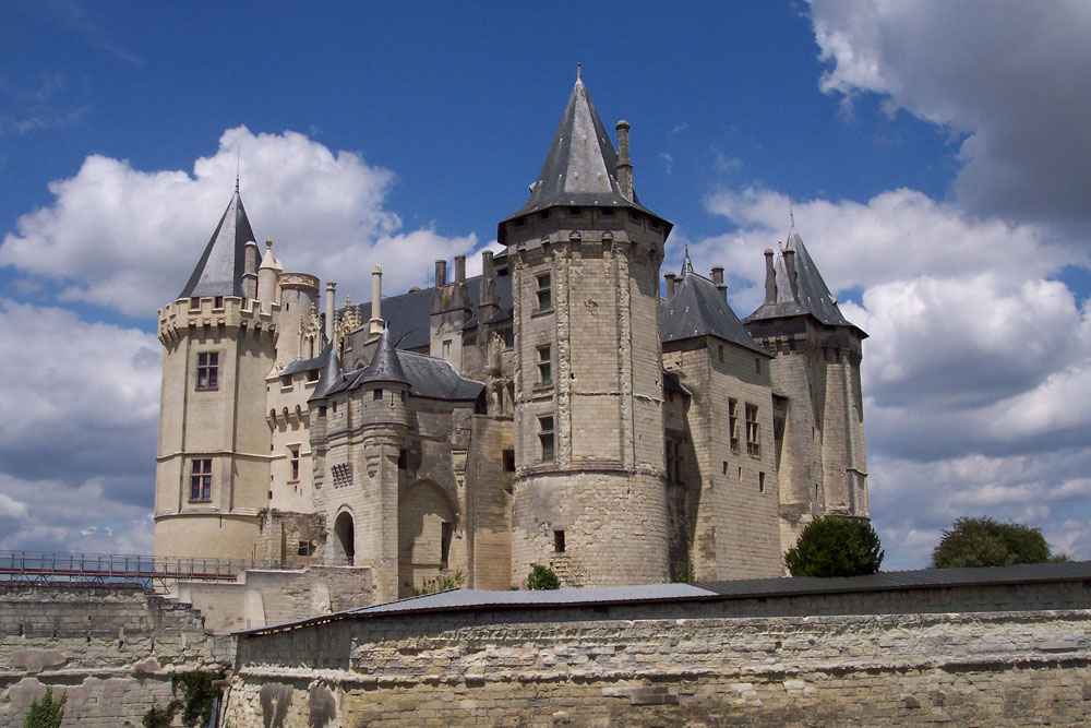 Saumur Castle, where Yolande of Aragon often stayed