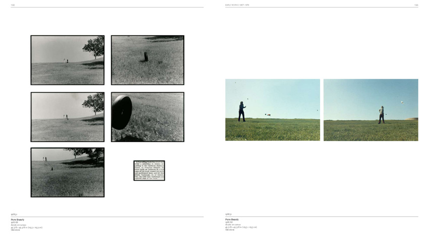 Pages from John Baldessari Catalogue Raisonne v. 1; 1956-1974