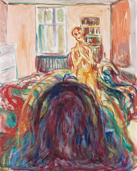 Edvard Munch Disturbed Vision 1930 Oil on canvas 80 x 64 cm