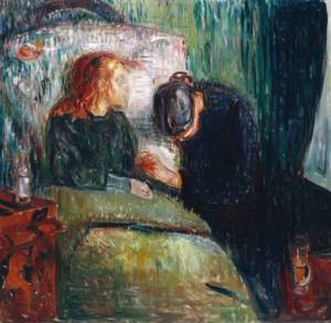 'The Sick Child' by Edvard Munch.