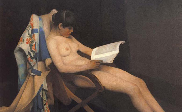 Theodore Roussel's The Reading Girl (1887)