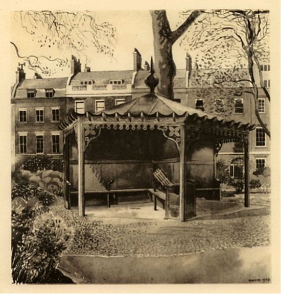 Dimond, The Pavilion, Bedford Square, 1943