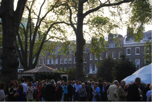 Launch of 'The London Square' in Bedford Square, 23 May 2012.