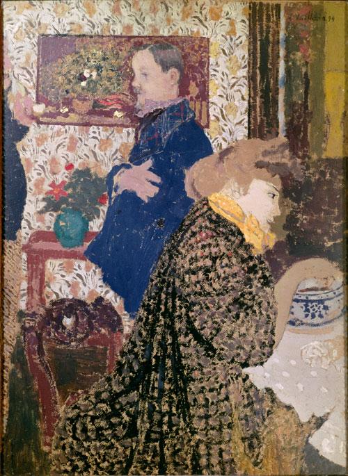 Edouard Vuillard, Misia and Vallotton at Villeneuve