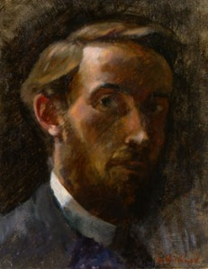 Self-Portrait, 1889, oil on canvas