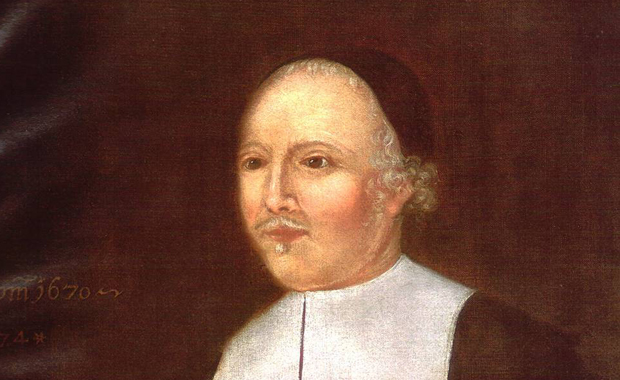 Puritan clergyman and co-founder of the American colony of New Haven, John Davenport