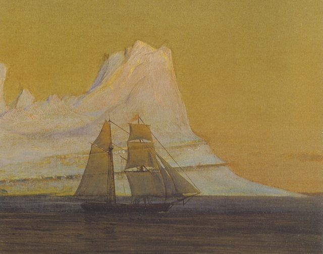 'The Iceberg' circa 1875, from 'Frederic Church and the Landscape Oil Sketch'