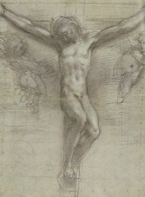 Barocci, Study for 'Christ on the Cross'